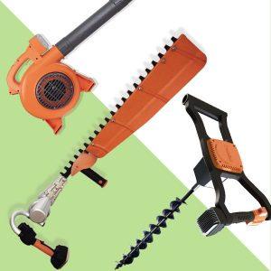 吹葉機、籬笆剪、鑽孔機